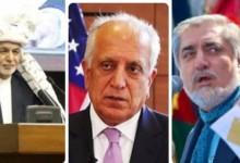 اختلاف سران حکومت بر سر طرح جدید امریکا برای صلح افغانستان